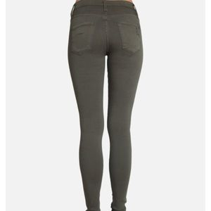 James Jeans Jeans - James jeans Twiggy in distressed army green